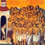 40 мучеников, в Севастийском озере мучившихся