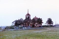 Троицкая церковь. Вид до восстановления. Август 1975 года Фот. Шатохин А. В.